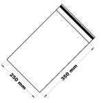 Uzavíratelné zip sáčky 25 x 35 cm [100 ks]