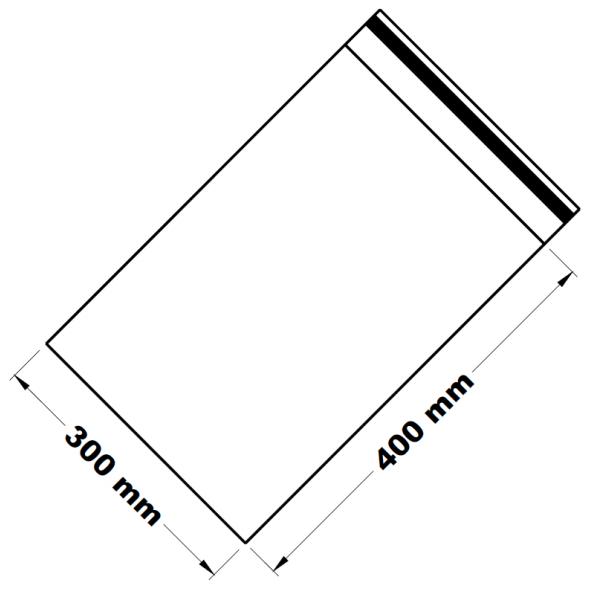 Uzavíratelné zip sáčky 30 x 40 cm [100 ks]