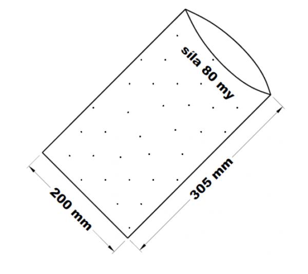 PE sáček -200x305mm/0