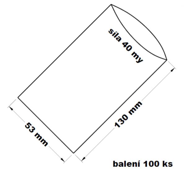 PE sáček transparentní 5