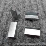 Vázací spony kovové pro pásku 9 - 10 mm [3500 ks]