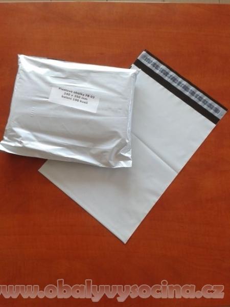Obálky plastové 260 x 350 mm