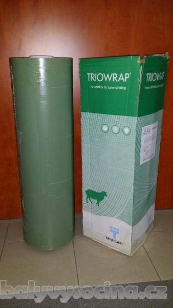 TRIOWRAP Zemědělská strečová folie 750 mm x 1500m