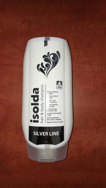 Isolda Silver Line tělový a vlasový šampón 500 ml