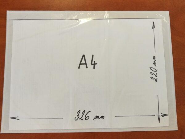 Transportní obálka A4