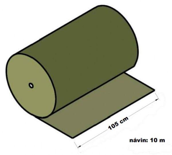 Lepenka vlnitá dvouvrstvá papírová 105 cm x 10 m