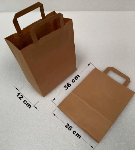 Papírová taška s uchem