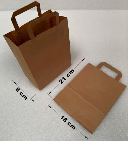 Taška papírová 18x8x21 cm