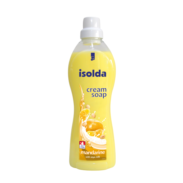 Isolda krémové mýdlo Mandarinka se sojovým mlékem 1 l