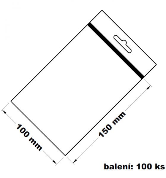 Rychlouzavírací sáček s eurovýsekem 10x15 100 ks