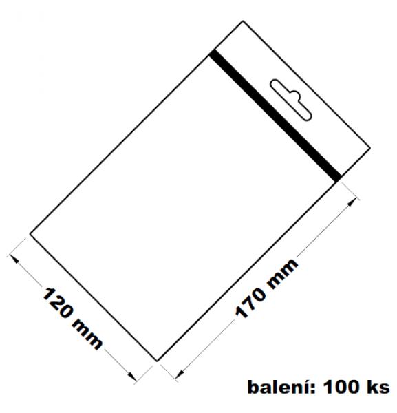 Rychlouzavírací sáček s eurovýsekem 12x17 100ks