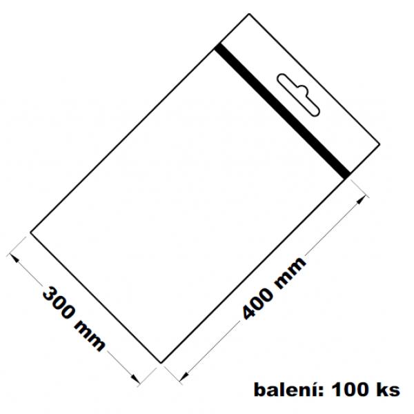 Rychlouzavírací sáček s eurovýsekem 30x40 100 ks