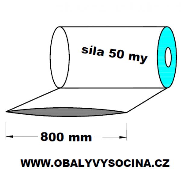 LDPE fólie hadice 1.A kvalita 800 mm 100 my 1 kg