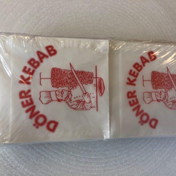 Sáček KEBAB 16x16 cm - 500 ks