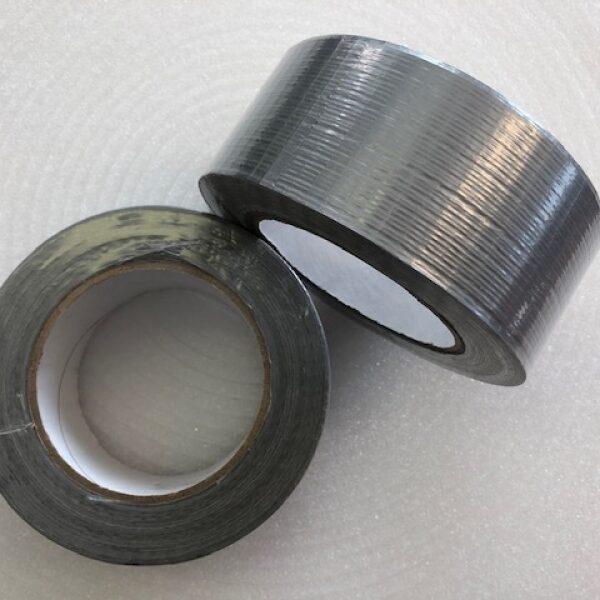 Lepicí páska textilní univerzální šedá 48 mm x 50 m