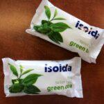 ISOLDA pevné mýdlo green tea 100g